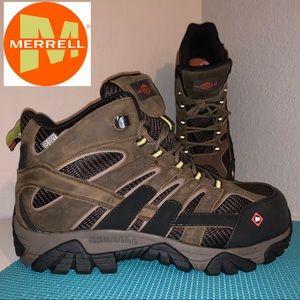 Merrell Mens Sz. 12 Moab 2 Composite Toe Work Boot